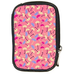 Umbrella Seamless Pattern Pink Compact Camera Cases