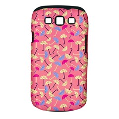 Umbrella Seamless Pattern Pink Samsung Galaxy S III Classic Hardshell Case (PC+Silicone)