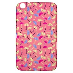 Umbrella Seamless Pattern Pink Samsung Galaxy Tab 3 (8 ) T3100 Hardshell Case