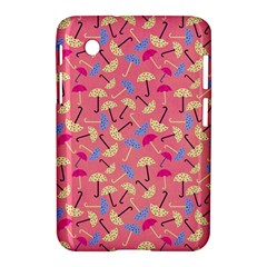Umbrella Seamless Pattern Pink Samsung Galaxy Tab 2 (7 ) P3100 Hardshell Case