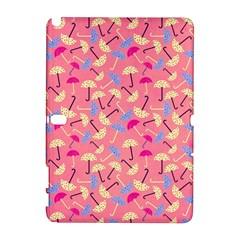 Umbrella Seamless Pattern Pink Galaxy Note 1