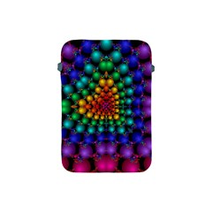 Mirror Fractal Balls On Black Background Apple iPad Mini Protective Soft Cases