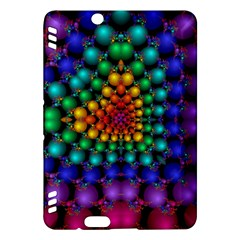 Mirror Fractal Balls On Black Background Kindle Fire HDX Hardshell Case