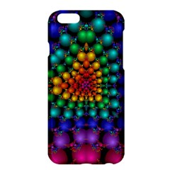 Mirror Fractal Balls On Black Background Apple iPhone 6 Plus/6S Plus Hardshell Case