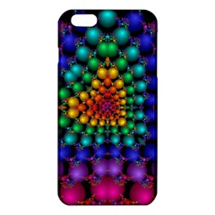 Mirror Fractal Balls On Black Background Iphone 6 Plus/6s Plus Tpu Case
