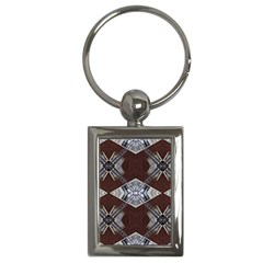 Ladder Against Wall Abstract Alternative Version Key Chains (rectangle)