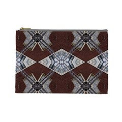 Ladder Against Wall Abstract Alternative Version Cosmetic Bag (large)