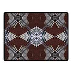 Ladder Against Wall Abstract Alternative Version Fleece Blanket (small)
