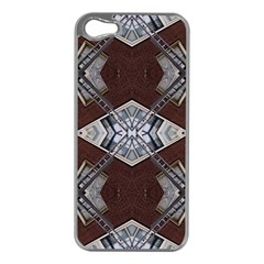 Ladder Against Wall Abstract Alternative Version Apple Iphone 5 Case (silver)