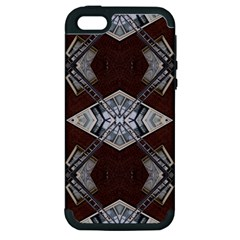 Ladder Against Wall Abstract Alternative Version Apple iPhone 5 Hardshell Case (PC+Silicone)