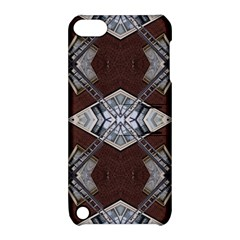 Ladder Against Wall Abstract Alternative Version Apple iPod Touch 5 Hardshell Case with Stand