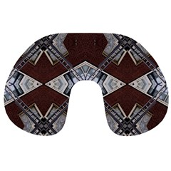 Ladder Against Wall Abstract Alternative Version Travel Neck Pillows