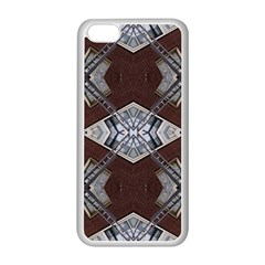 Ladder Against Wall Abstract Alternative Version Apple iPhone 5C Seamless Case (White)