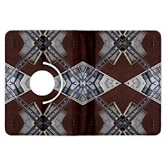Ladder Against Wall Abstract Alternative Version Kindle Fire Hdx Flip 360 Case