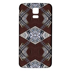 Ladder Against Wall Abstract Alternative Version Samsung Galaxy S5 Back Case (White)