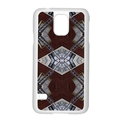 Ladder Against Wall Abstract Alternative Version Samsung Galaxy S5 Case (White)