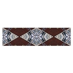 Ladder Against Wall Abstract Alternative Version Satin Scarf (oblong)