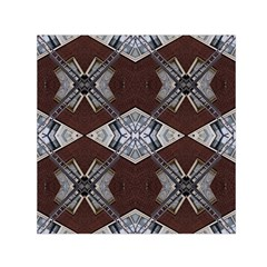 Ladder Against Wall Abstract Alternative Version Small Satin Scarf (Square)