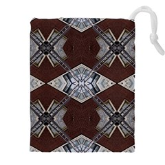 Ladder Against Wall Abstract Alternative Version Drawstring Pouches (XXL)