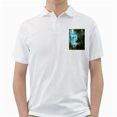 Beautiful Peacock Colorful Golf Shirts