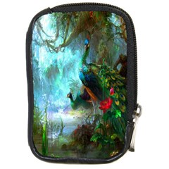 Beautiful Peacock Colorful Compact Camera Cases
