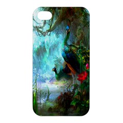 Beautiful Peacock Colorful Apple iPhone 4/4S Hardshell Case