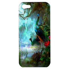 Beautiful Peacock Colorful Apple iPhone 5 Hardshell Case