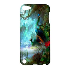 Beautiful Peacock Colorful Apple iPod Touch 5 Hardshell Case