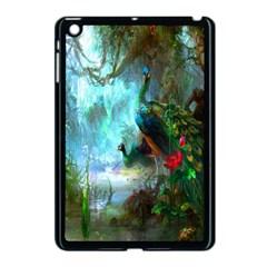 Beautiful Peacock Colorful Apple iPad Mini Case (Black)