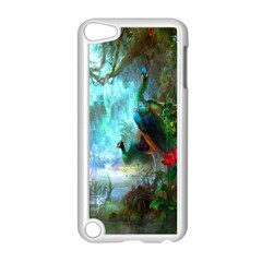 Beautiful Peacock Colorful Apple iPod Touch 5 Case (White)