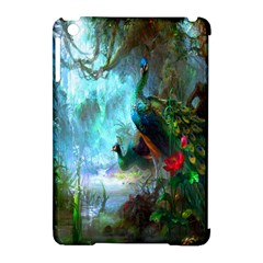 Beautiful Peacock Colorful Apple iPad Mini Hardshell Case (Compatible with Smart Cover)