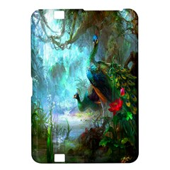 Beautiful Peacock Colorful Kindle Fire HD 8.9