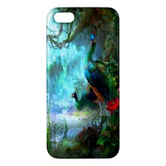 Beautiful Peacock Colorful Apple iPhone 5 Premium Hardshell Case