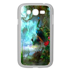 Beautiful Peacock Colorful Samsung Galaxy Grand Duos I9082 Case (white)