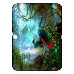 Beautiful Peacock Colorful Samsung Galaxy Tab 3 (10.1 ) P5200 Hardshell Case