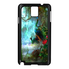 Beautiful Peacock Colorful Samsung Galaxy Note 3 N9005 Case (Black)