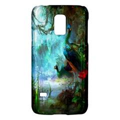 Beautiful Peacock Colorful Galaxy S5 Mini