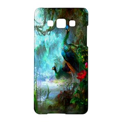 Beautiful Peacock Colorful Samsung Galaxy A5 Hardshell Case