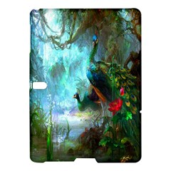 Beautiful Peacock Colorful Samsung Galaxy Tab S (10.5 ) Hardshell Case