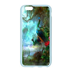 Beautiful Peacock Colorful Apple Seamless iPhone 6/6S Case (Color)