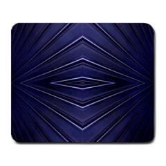 Blue Metal Abstract Alternative Version Large Mousepads