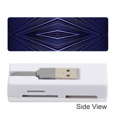 Blue Metal Abstract Alternative Version Memory Card Reader (stick)