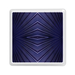 Blue Metal Abstract Alternative Version Memory Card Reader (square)