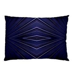 Blue Metal Abstract Alternative Version Pillow Case (two Sides)