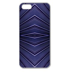 Blue Metal Abstract Alternative Version Apple Seamless Iphone 5 Case (clear)