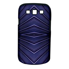 Blue Metal Abstract Alternative Version Samsung Galaxy S Iii Classic Hardshell Case (pc+silicone)