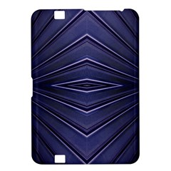 Blue Metal Abstract Alternative Version Kindle Fire HD 8.9