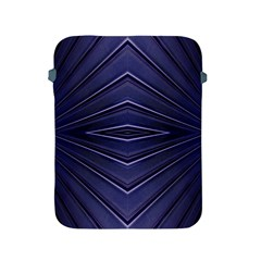 Blue Metal Abstract Alternative Version Apple iPad 2/3/4 Protective Soft Cases