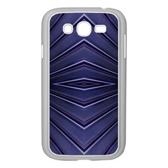 Blue Metal Abstract Alternative Version Samsung Galaxy Grand DUOS I9082 Case (White)