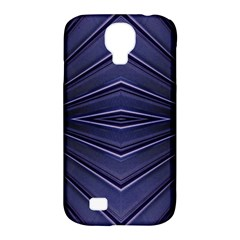 Blue Metal Abstract Alternative Version Samsung Galaxy S4 Classic Hardshell Case (pc+silicone)